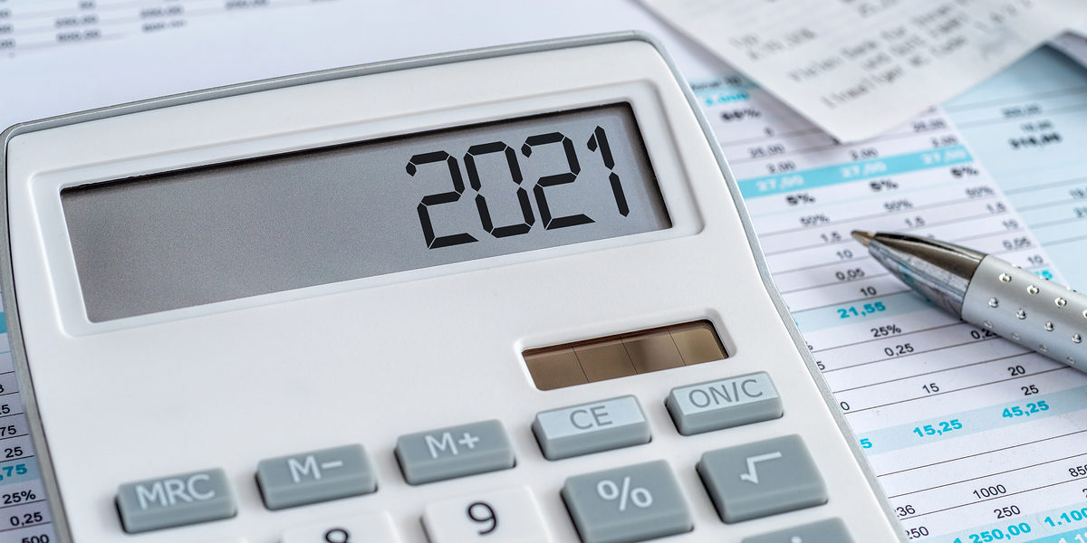 A calculator with the 2021 on the display Schlagwort(e): calculator, 2021, money, finance, cash, business, accounting, bank, banking, investment, financial, savings, payment, invest, income, capital, profit, economy, cost, finances, billing, balance, bookkeeping, budget, save, note, costs, account, financing, interest, earnings, calculate, text, pay, concept, expenditure, calculation, year, revenue, forecasts, risk, tax, stock market, stocks, credit, loss, return, debt