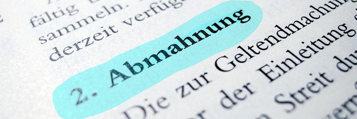 Abmahnung Eines Lehrlings Handwerkskammer Zu Leipzig